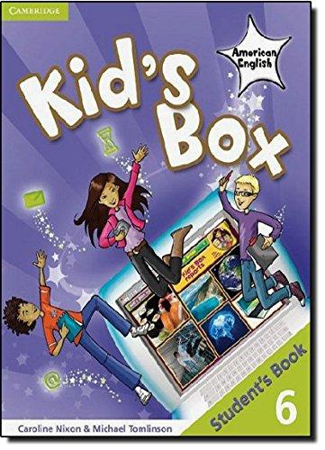 Kid's Box American English Level 6 Student's Book (Paperback): Caroline Nixon