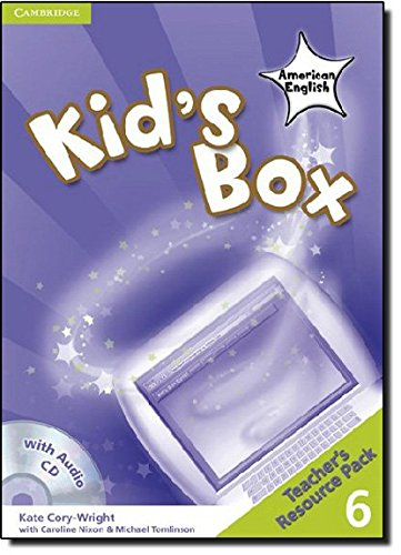 9780521178181: Kid's Box American English  6 Teacher's Resource Pack with Audio CD