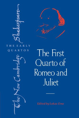 9780521178266: The First Quarto of Romeo and Juliet