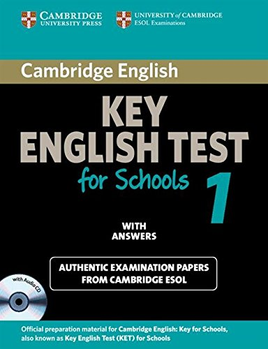 9780521178334: Cambridge KET for Schools 1 Self-study Pack (Student's Book with Answers and Audio CD): Official Examination Papers from University of Cambridge ESOL Examinations (KET Practice Tests)