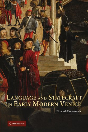 9780521178365: Language and Statecraft in Early Modern Venice