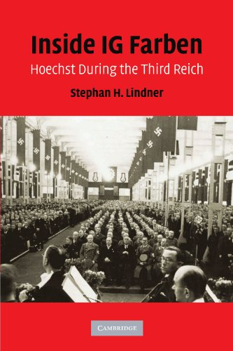 9780521178389: Inside IG Farben: Hoechst During the Third Reich