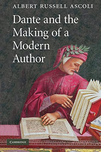 9780521178440: Dante and the Making of a Modern Author