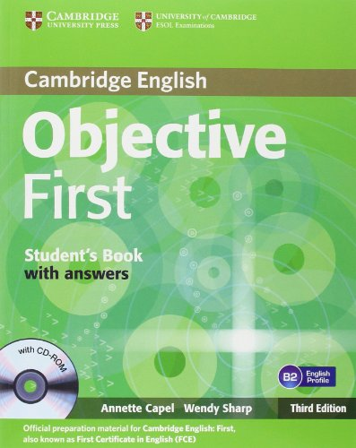 9780521178792: Objective first certificate. Student's book. With answers. Con espansione online. Per le Scuole superiori