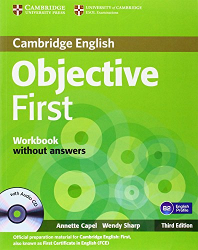 9780521178808: Objective First Workbook without Answers with Audio CD