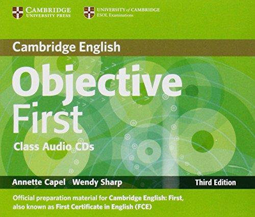 9780521178815: Objective First Class Audio CDs (2)