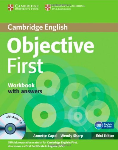 9780521178822: Objective first certificate. Workbook with answers. Con CD Audio. Con espansione online. Per le Scuole superiori