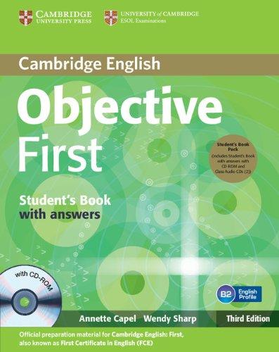 9780521178839: Objective first certificate. Student's book. With answers. Con espansione online. Per le Scuole superiori. Con CD-ROM. Con CD Audio