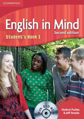9780521179072: English in Mind 2nd  1 Student's Book with DVD-ROM
