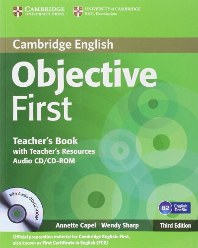 9780521179096: Objective First 3rd Teacher's Book with Teacher's Resources Audio CD/CD-ROM
