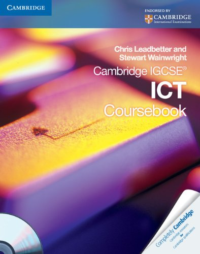 9780521179119: Cambridge IGCSE ICT Coursebook with CD-ROM (Cambridge International Examinations)