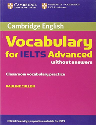 9780521179218: Cambridge Vocabulary for IELTS Advanced. Book without answers