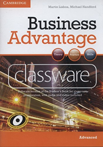 9780521179294: Business Advantage Advanced Classware DVD-ROM