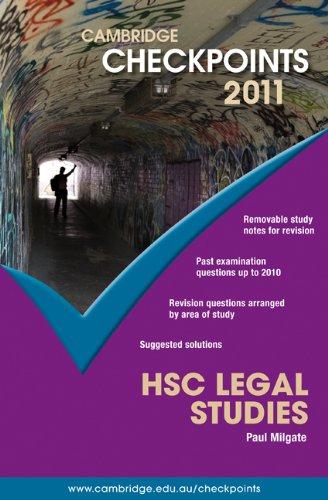 Cambridge Checkpoints HSC Legal Studies 2011: Paul Milgate