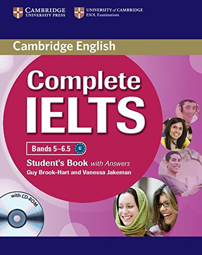 "Complete IELTS Bands 5â€""6.5 Student's Book with: Jakeman, Vanessa, Brook-Hart,"