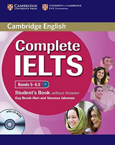 Complete IELTS Bands 5-6.5 Student's Book without: Jakeman, Vanessa,Brook-Hart, Guy
