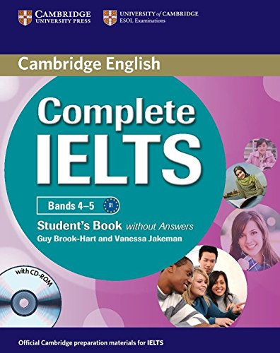 9780521179577: Complete IELTS Bands 4-5 Student's Book without Answers with CD-ROM