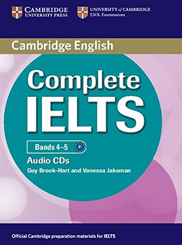 9780521179584: Complete IELTS Bands 4-5 Class Audio CDs (2)