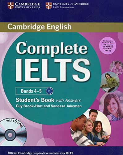 9780521179607: Complete IELTS Bands 4-5 Student's Pack (Student's Book with Answers with CD-ROM and Class Audio CDs (2))
