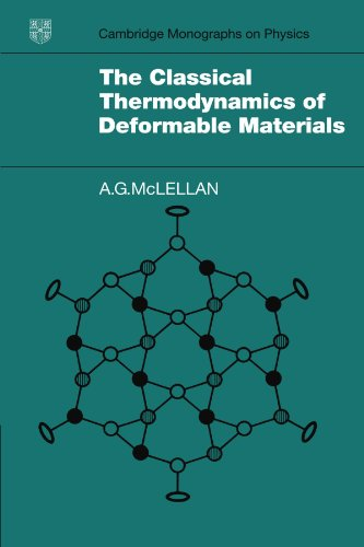 The Classical Thermodynamics of Deformable Materials: A. G. McLellan