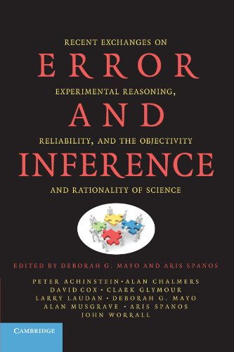 9780521180252: Error and Inference: Recent Exchanges on Experimental Reasoning, Reliability, and the Objectivity and Rationality of Science