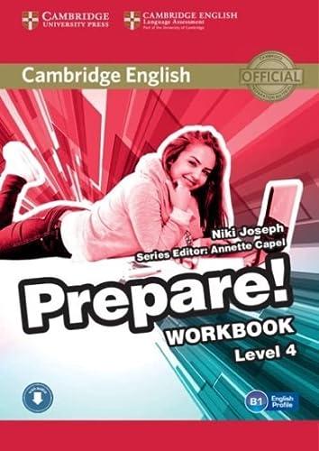 9780521180283: Cambridge English Prepare! Level 4 Workbook with Audio