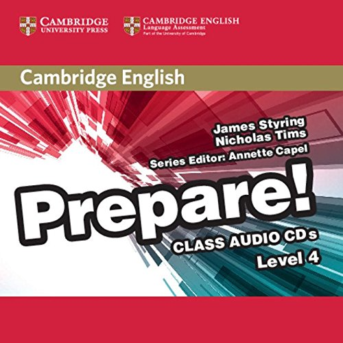 9780521180306: Cambridge English Prepare! Level 4 Class Audio CDs (2)