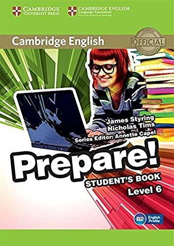 9780521180313: Cambridge English Prepare! Level 6 Student's Book