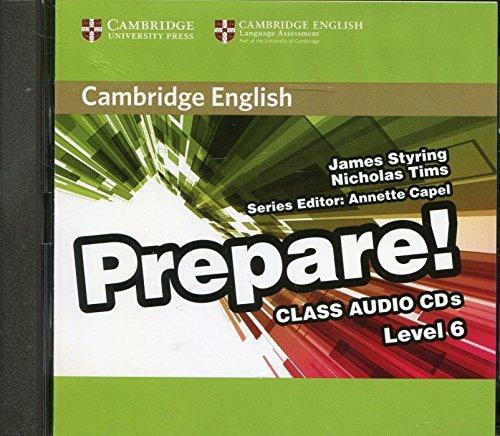 9780521180351: Cambridge English Prepare! Level 6 Class Audio CDs (2)