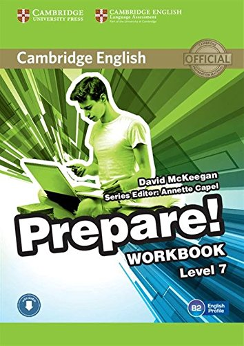 9780521180382: Cambridge English Prepare! Level 7 Workbook with Audio