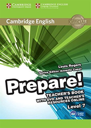 9780521180399: Cambridge English Prepare! Level 7 Teacher's Book with DVD and Teacher's Resources Online