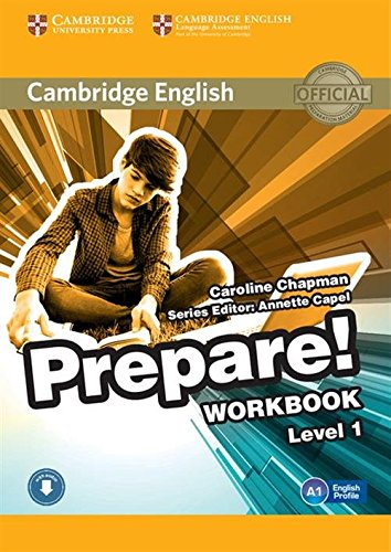 9780521180443: Cambridge English Prepare! Level 1 Workbook with Audio