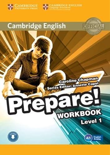 9780521180443: Cambridge English Prepare! Level 1 Workbook with Audio