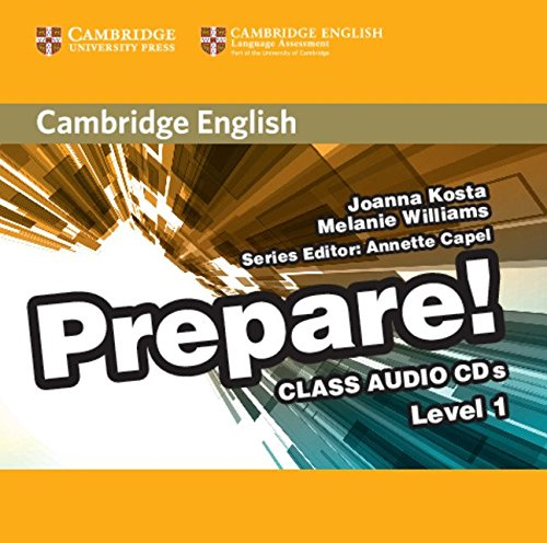 9780521180467: Cambridge English Prepare! Level 1 Class Audio CDs (2)