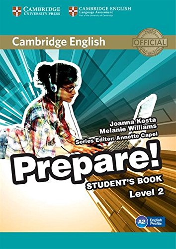 9780521180481: Cambridge English Prepare! Level 2 Student's Book