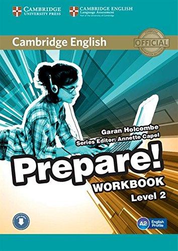 9780521180498: Prepare! Level 2. Workbook with audio