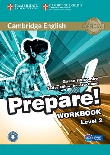 9780521180498: Cambridge English Prepare! Level 2 Workbook with Audio