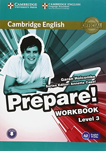 9780521180559: Cambridge English Prepare! Level 3 Workbook with Audio