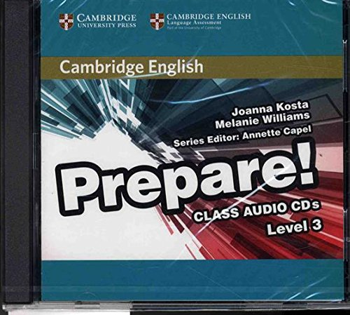 9780521180573: Cambridge English Prepare! Level 3 Class Audio CDs (2)