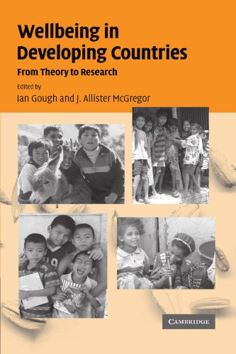 9780521180801: Wellbeing in Developing Countries: From Theory to Research