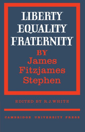 9780521180825: Liberty, Equality, Fraternity (Cambridge Studies in the History and Theory of Politics)