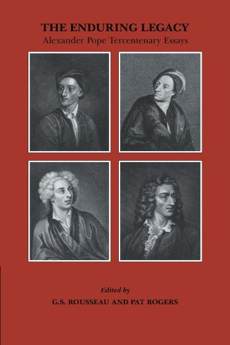 9780521180856: The Enduring Legacy: Alexander Pope Tercentenary Essays