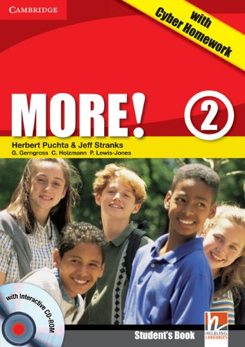 9780521180948: More! Level 2 Turkish Edition Student's Book with CD-ROM with Cyber Homework, Workbook with Audio CD and Extra Practice Book Pack
