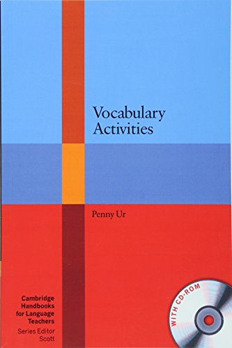 9780521181143: Vocabulary Activities with CD-ROM (Cambridge Handbooks for Language Teachers)