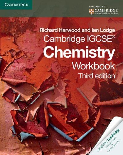 9780521181174: Cambridge IGCSE Chemistry Workbook (Cambridge International IGCSE)