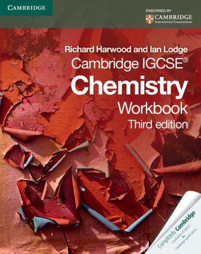 Cambridge IGCSE Chemistry Workbook (Cambridge International IGCSE): Harwood, Richard, Lodge,