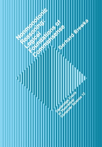 9780521181303: Nonmonotonic Reasoning: Logical Foundations of Commonsense (Cambridge Tracts in Theoretical Computer Science)