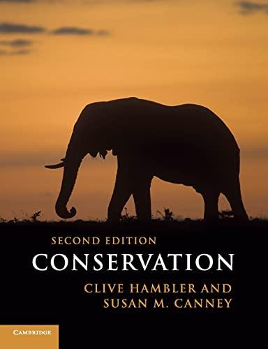 9780521181686: Conservation