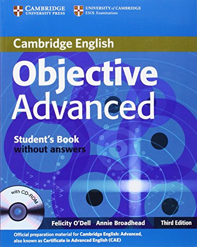 9780521181716: Objective CAE 3rd  Student's Book without Answers with CD-ROM