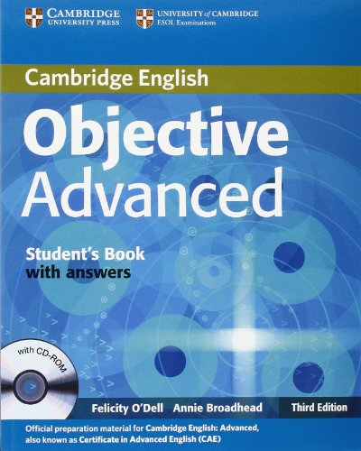 9780521181723: Objective Advanced Student's Book with Answers with CD-ROM